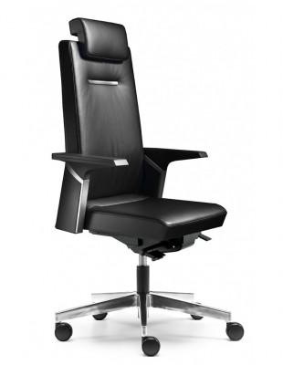 Кресло SOKOA K01 для руководителя, кожаное