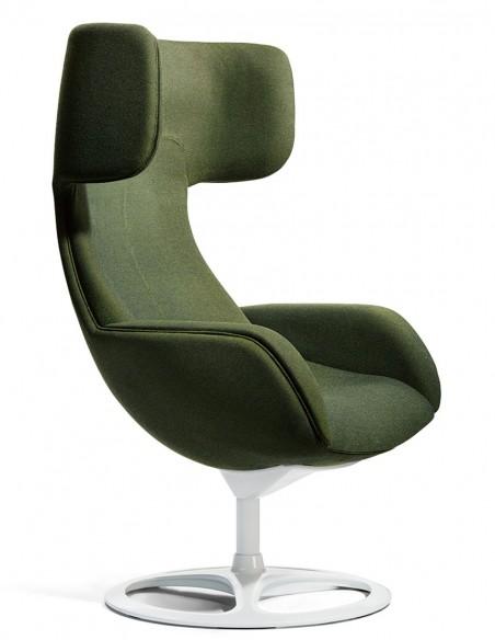 Кресло Okamura Lives Lounge, тканевое
