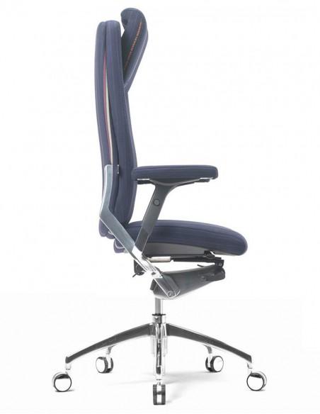 Кресло SITIA BLACK OR WHITE HIGH BACK для руководителя, тканевое