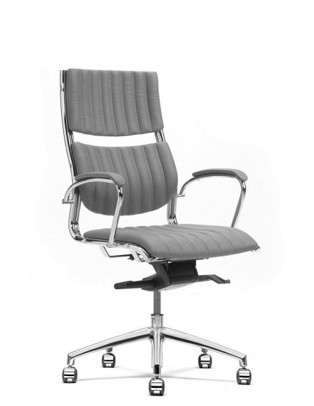 Кресло SITIA HAVANA MID BACK, кожаное