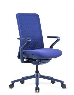 Кресло KRESLALUX POLY PURPLE BLUE, тканевое, фиолетовый