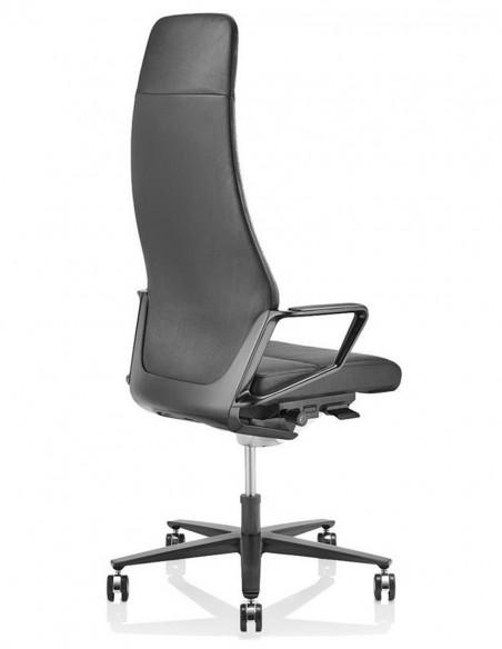 Кресло руководителя ZÜCO SIGNO SG 605, кожаное, midnight black