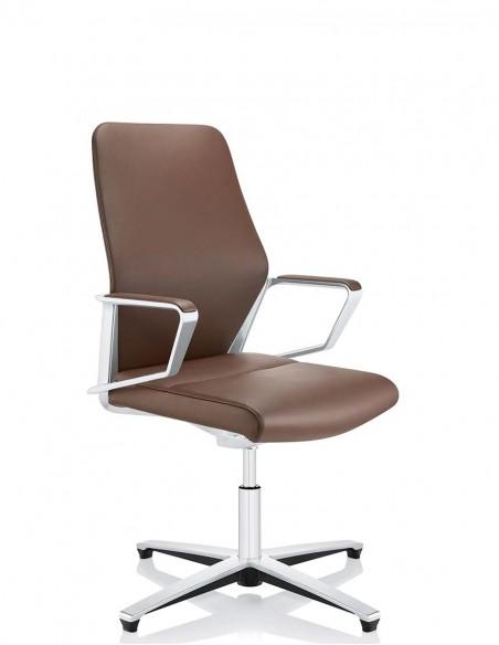 Кресло ZÜCO SIGNO SG 614, кожаное, для руководителей и конференций