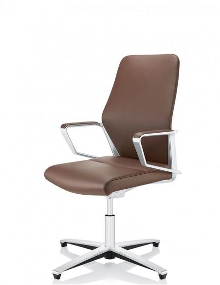 Кресло ZÜCO SIGNO SG 614, кожаное, для конференций