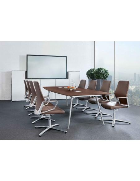 Кресло ZÜCO SIGNO SG 611, кожаное, для конференций