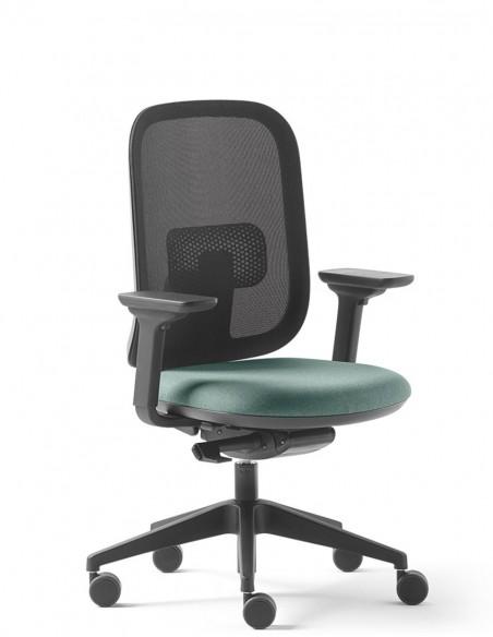 Кресло SOKOA ALAIA R (IR764), для оператора, спинка сетка