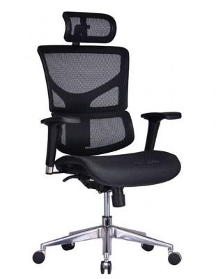 Крісло EXPERT SAIL NEW (SAYM01), ергономічне, колір чорний