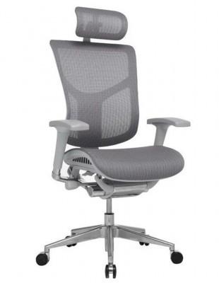 Крісло EXPERT STAR (HSTM01-G) для керівника, ергономічне, колір сірий
