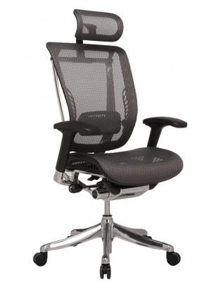 Крісло HOOKAY EXPERT SPRING (HSPM-01) для керівника, ергономічне, колір чорний