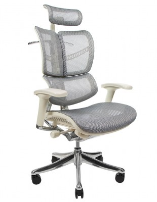 Крісло EXPERT FLY (HFYM01-G) для керівника, ортопедичне, колір сірий