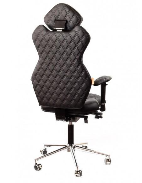 Кресло для руководителя, ортопедическое Kulik System Royal черное