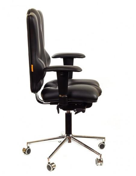 Кресло для оператора, ортопедическое Kulik System Elegance черное