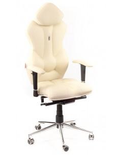 Кресло для руководителя, ортопедическое Kulik System Royal бежевое