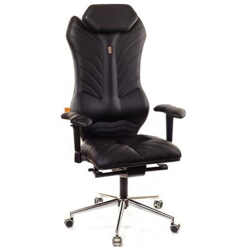 Кресло для руководителя, ортопедическое Kulik System Monarch черное