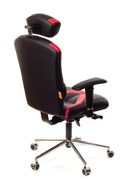 Кресло для оператора, ортопедическое Kulik System Victory черно-красное
