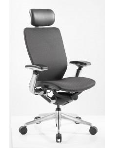 Кресло для руководителя NINGHTINGALE 7300 D черное
