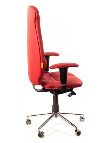 Кресло для оператора, ортопедическое Kulik System Galaxy красное