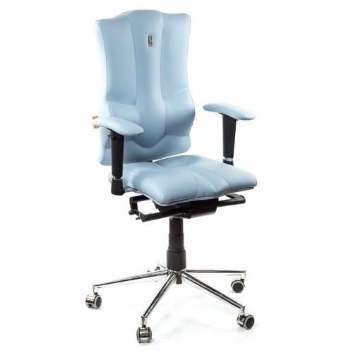 Кресло для оператора, ортопедическое Kulik-System Elegance голубое