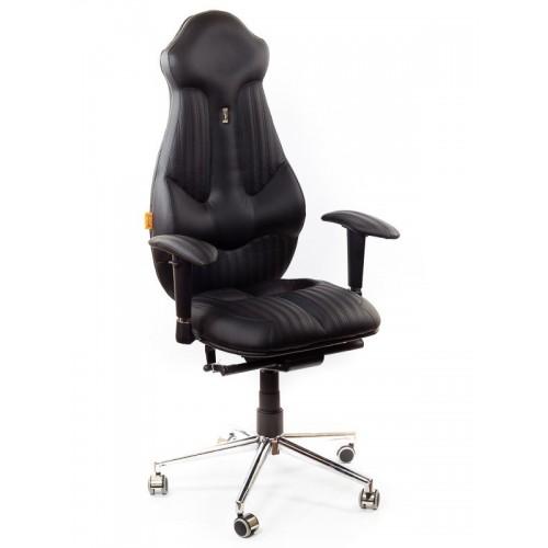 Кресло для руководителя, ортопедическое Kulik System Imperial черное