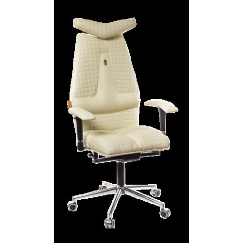 Кресло для руководителя, ортопедическое Kulik-System JET песочное