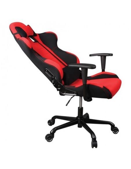 Кресло Бюрократ 771/RED+BL для руководителя, красный/черный