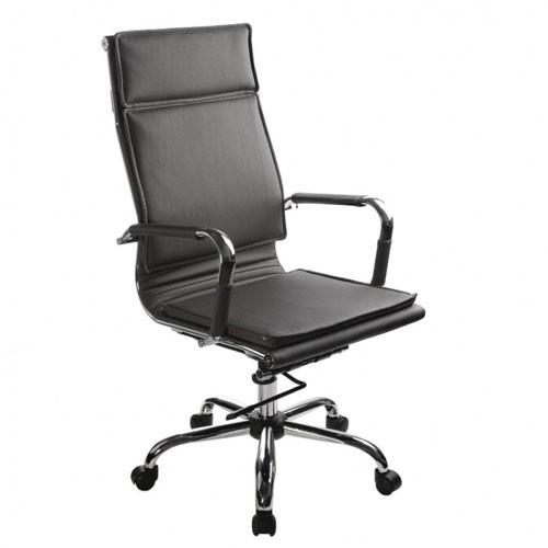 Кресло Бюрократ CH-993/BLACK для руководителя, цвет черный