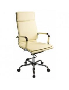 Кресло Бюрократ CH-993/IVORY для руководителя,  цвет слоновая кость