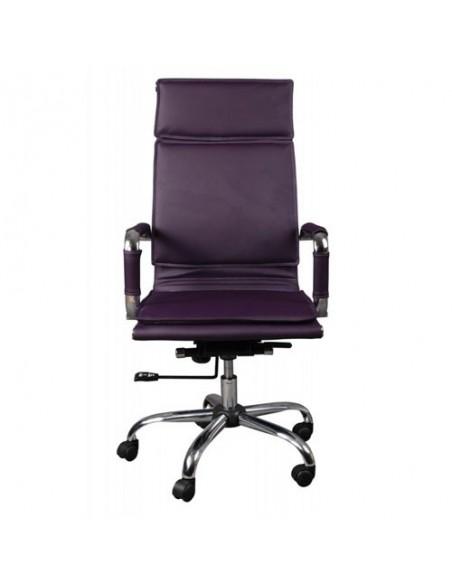 Кресло Бюрократ CH-993/PURPLE для руководителя, цвет фиолетовый