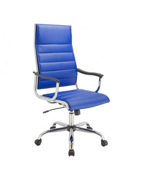 Кресло Бюрократ CH-994/BLUE для руководителя, цвет синий