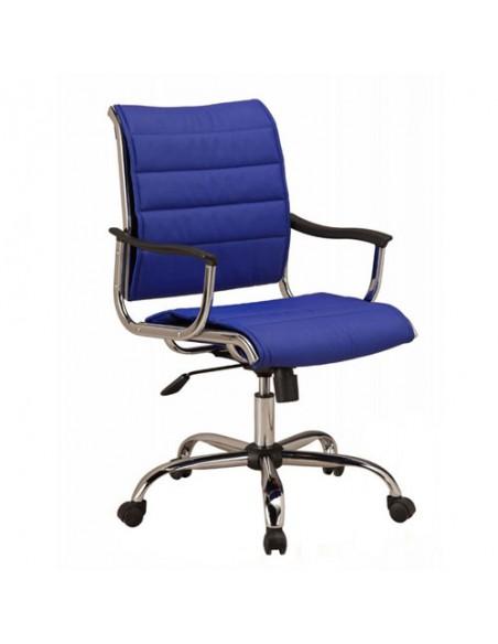 Кресло Бюрократ CH-994AXSN/BLUE для руководителя, цвет синий