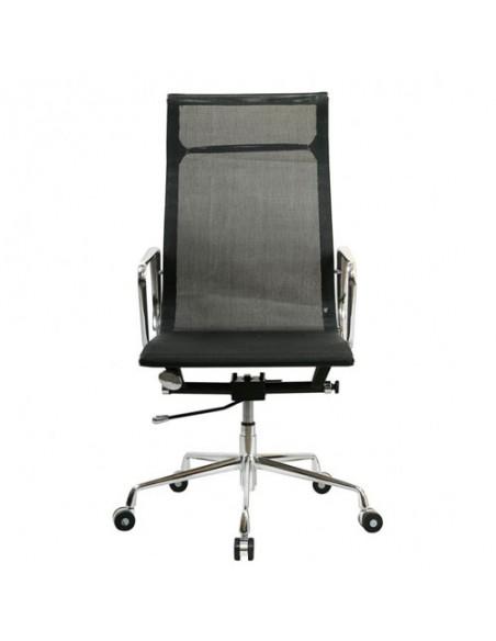 Кресло Бюрократ CH-996/BLACK для руководителя, цвет черный