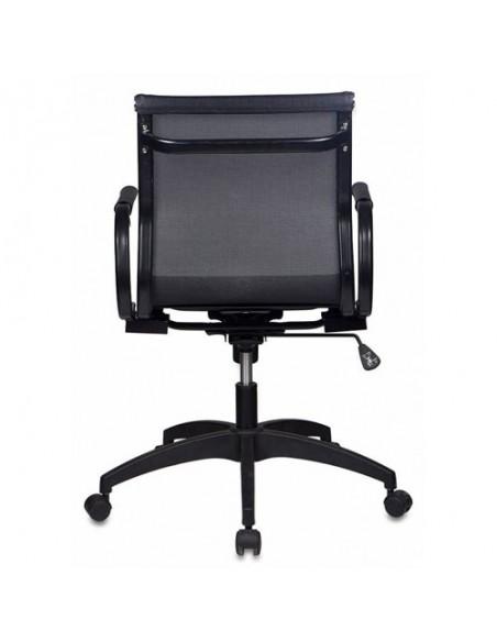 Кресло Бюрократ CH-997-LOW/BLACK для руководителя, цвет черный