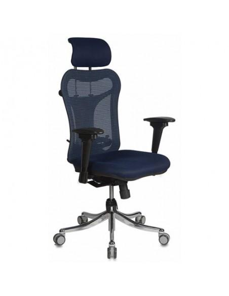 Кресло Бюрократ CH-999ASX/BL/TW-10N для руководителя, цвет синий