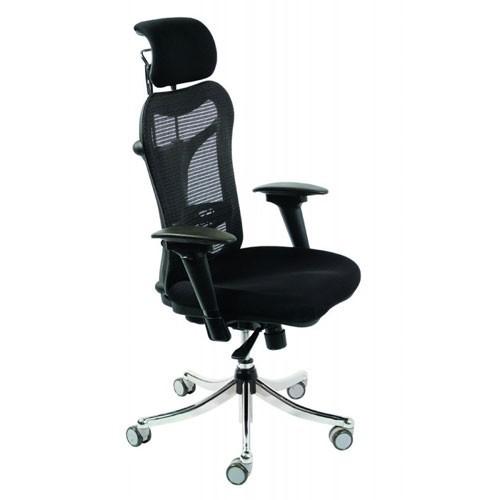 Кресло Бюрократ CH-999ASX/BLACK для руководителя, цвет черный