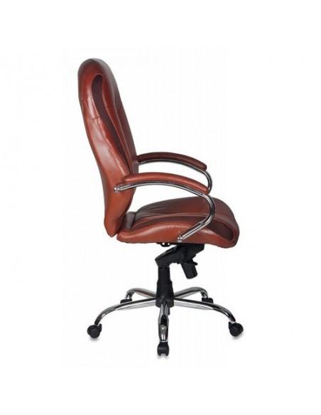 Кресло Бюрократ T-9930SL/BROWN для руководителя, цвет коричневый