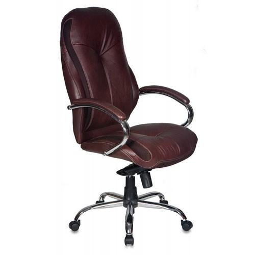 Кресло Бюрократ T-9930SL/CHOCOLATE для руководителя, цвет темно-коричневый