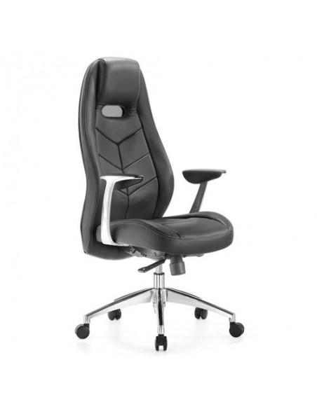 Кресло Бюрократ _Zen/BLACK для руководителя, цвет черный