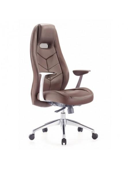 Кресло Бюрократ _Zen/BROWN для руководителя, цвет коричневый