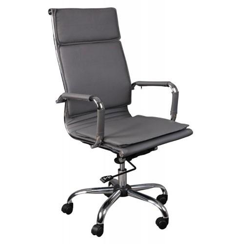 Кресло Бюрократ CH-993/GREY для руководителя, цвет серый
