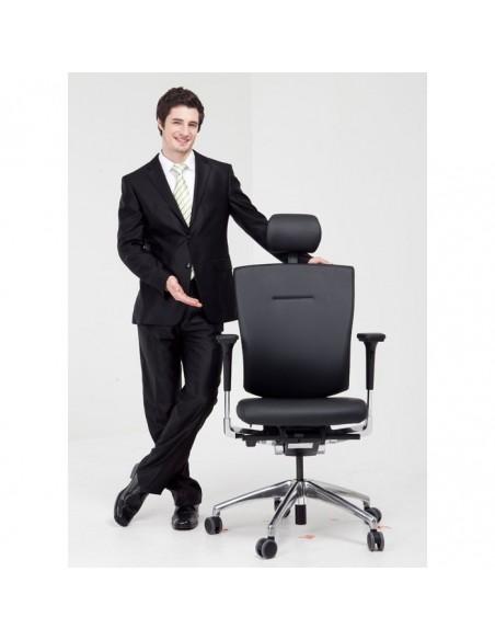 Кресло DUOREST DuoFlex Leather BR-100L для руководителя, ортопедическое