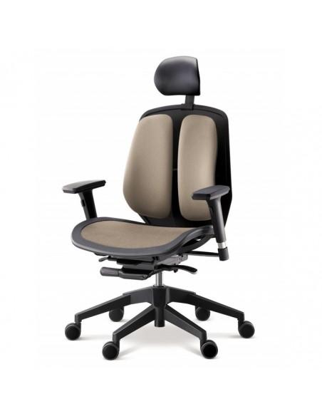 Кресло DUOREST Alpha A80H для руководителя, ортопедическое, цвет бежевый