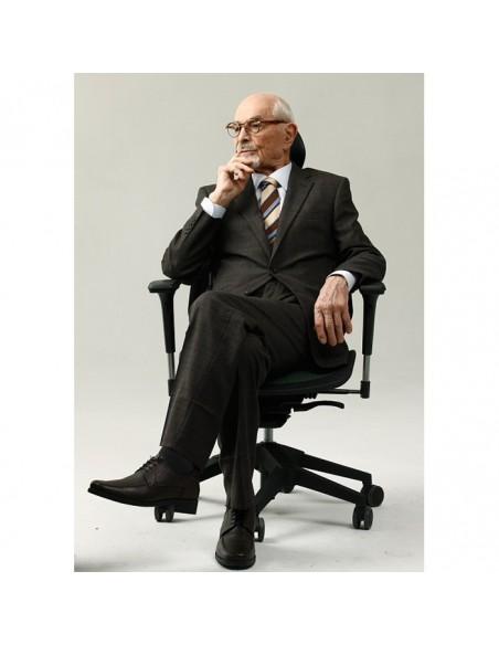 Кресло DUOREST Alpha A80H для руководителя, ортопедическое, цвет синий