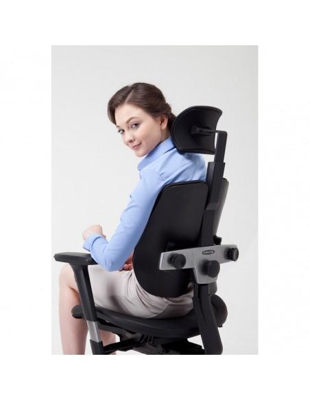 Кресло DUOREST Alpha A60H для руководителя, ортопедическое, цвет зеленый