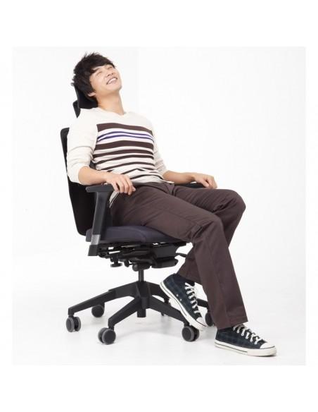 Кресло DUOREST Alpha A50H для руководителя, ортопедическое, цвет бежевый