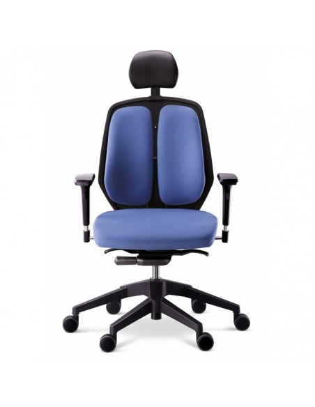 Кресло DUOREST Alpha A50H для руководителя, ортопедическое, цвет синий