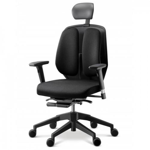 Кресло DUOREST Alpha A50H для руководителя, ортопедическое, цвет черный