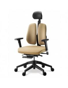 Кресло DUOREST Alpha A30H для руководителя, ортопедическое, цвет бежевый