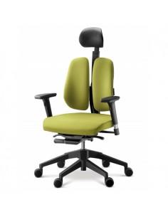 Кресло DUOREST Alpha A30H для руководителя, ортопедическое, цвет зеленый