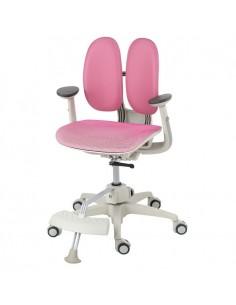Кресло DUOREST Kids ORTO ai-50 Mesh детское, ортопедическое, цвет розовый