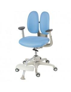 Кресло DUOREST Kids ORTO ai-50 Sponge детское, ортопедическое, цвет голубой